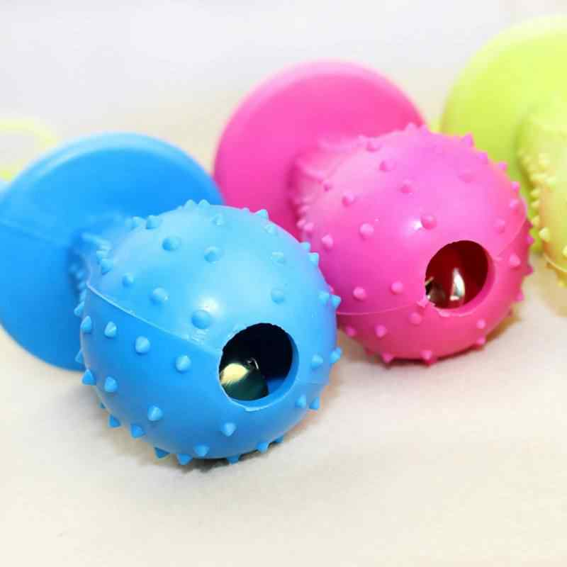 1 sztuk zabawka dla psa Chew piszczące gumowe zabawki wokal molowy gumowe zabawki śmieszne sutek piłka dla kota Puppy Baby Dogs interaktywne szkolenia
