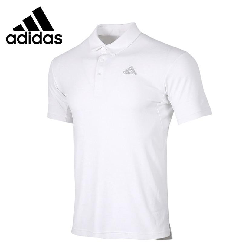Original New Arrival Adidas HTRDY CB M PL2 Men's POLO shirt short sleeve Sportswear