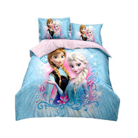 disney princess duvet cover set twin size bedding for girls bedroom decor single bedclothes coverlet children kids bed sheets