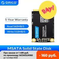 ORICO M200 mSATA SSD 128GB 256GB 512GB 1TB SATA Interne Solid State Festplatte 6Gbps 3D NAND SSD Für Desktop Laptop