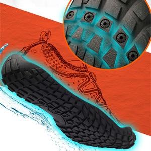 Image 4 - Mannen Vrouwen Duurzaam Wandelschoenen Sneakers Outdoor Klimmen Trekking Sport Footwear Antislip Platte Schoenen Unisex Waden Water Sneakers