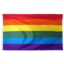 150x240cm 90x150 enorme gigante grande lgbt arco-íris orgulho gay bandeira