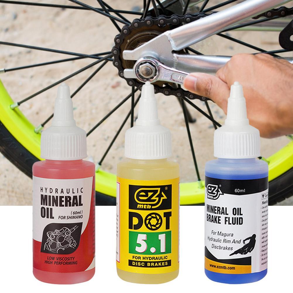 Велосипедная тормозная система с минеральным маслом, 60 мл, жидкость для горных велосипедов, велосипедная Тормозная жидкость, гидравлическо...