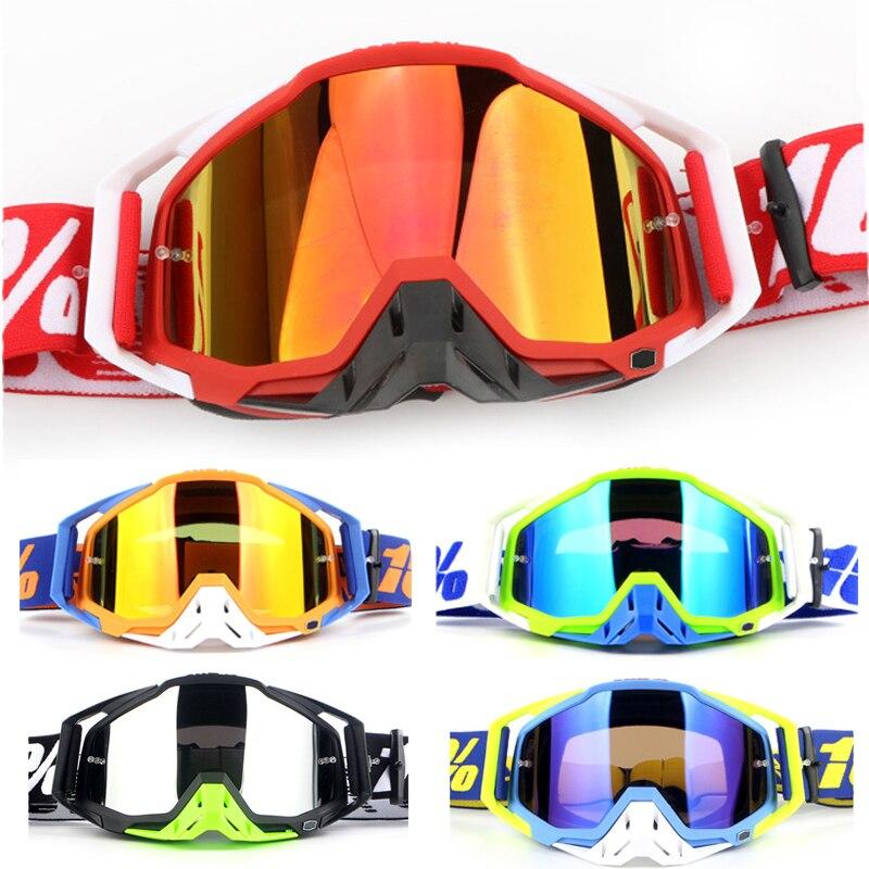 Классные мотоциклетные очки 100, очки для езды на открытом воздухе, велосипеде, MX ATV, Мотокросс, шлем, очки для катания на лыжах, внедорожных го...