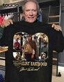 90 лет Клин Иствуд 1930-2020 и фирменная футболка с длинными рукавами