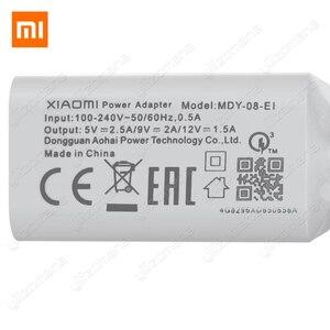 Image 2 - Xiaomi オリジナル充電器 2.5A 9 v/2A eu クイック高速 qc 3.0 タイプ c usb データケーブル旅行充電アダプタ mi 5 6 8 redmi 注 7