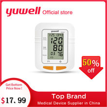 Yuwell YE660B/660C Arm Blood Pressure Monitor Watch Automatic Sphygmomanometer Digital Arm Blood Pressure Meter Big Screen