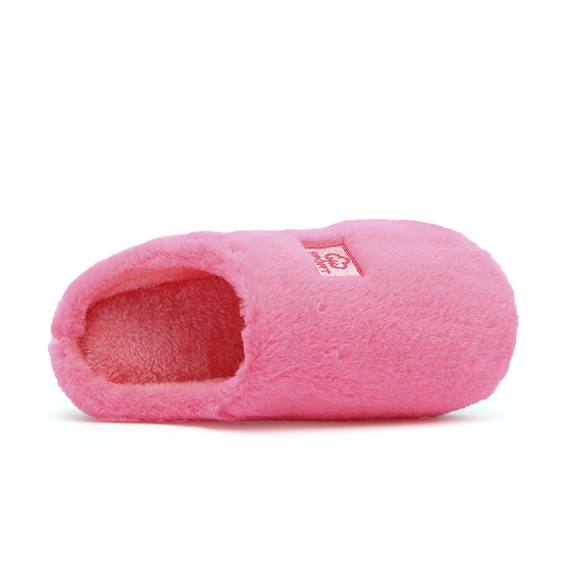 Image 5 - Cotton Slippers New Women Men Winter Slippers Shoes Soft Plush Cotton Non Slip Floor Indoor Furry Shoes Slipper For House Home-in Slippers from Shoes