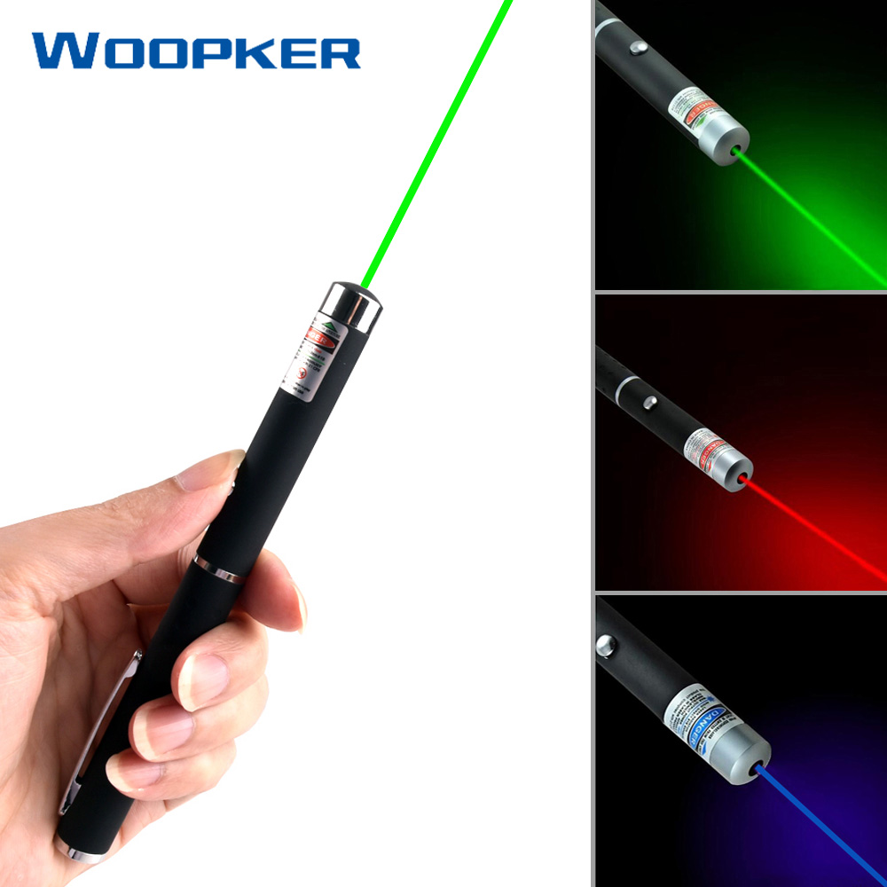 5mW 532nm Green Red Purple Laser Pen Lasers Pointer Presenter Remote Lazer Without Battery