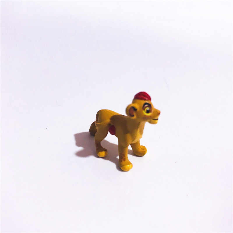 10pieces/lot 2.5cm pvc mini The Lion play house Children's toys Holiday gifts Christmas gift Bonsai doll decorate