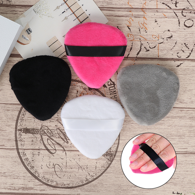 1 шт. основа для макияжа Губка для макияжа Косметическая пуховая пудра гладкая косметическая губка для макияжа