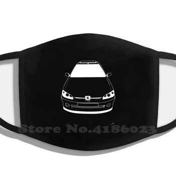 Peugeot 106 Printing Washable Breathable Reusable Cotton Mouth Mask Peugeot Car Renault Citroen France French Gti Classical image