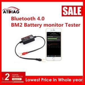 Image 2 - Probador de monitor de batería BM2, Bluetooth 4,0 de 12V, herramienta de diagnóstico para Android, IOS, iphone, analizador Digital, medición de batería