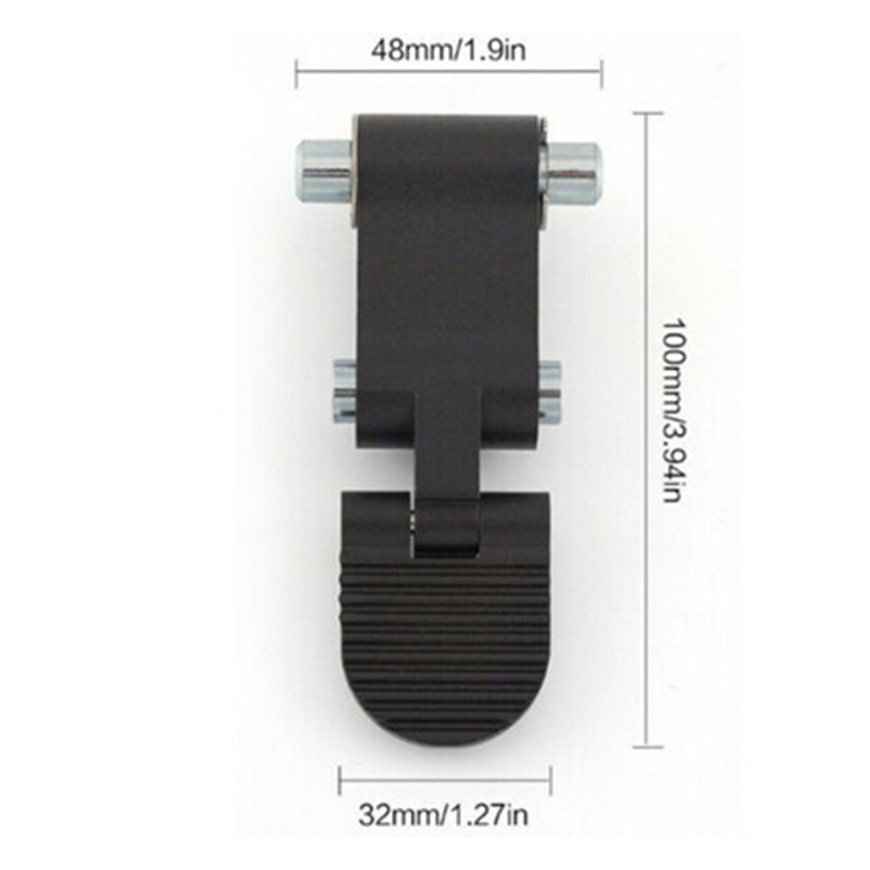1 Pair Aluminum Folding Assembly Replacement For Xiaomi Ninebot Segway ES2 ES4 Scooter Black Parts