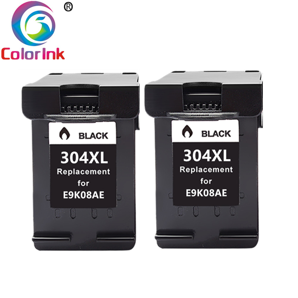 ColorInk Ink Cartridge 304XL New Version For Hp304 Hp 304 Xl Deskjet Envy 2620 2630 2632 5030 5020 5032 3720 3730 5010 Printer