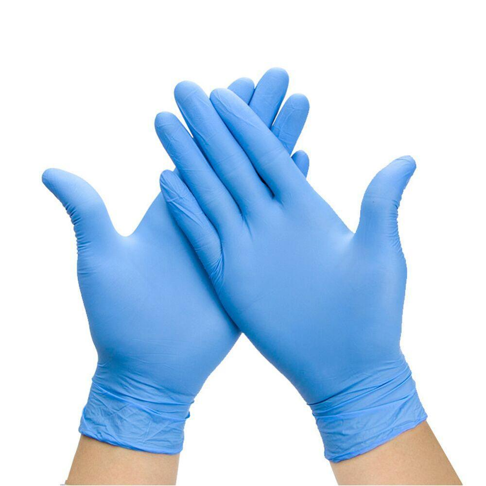 Disposable Gloves Latex 100pcs Nitrile Rubber Gloves Laboratory Work Safety Gloves Household Cleaning Gloves Hand Protective