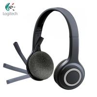 Logitech h600 sem fio fones de ouvido com cancelamento ruído microfone nano usb fone de ouvido sem fio para quase plataformas & sistemas operacionais|Fones de ouvido| |  -