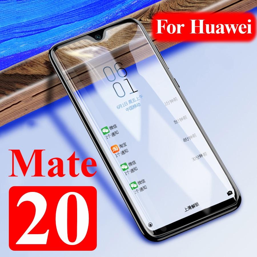 Verre de protection sur pour Huawei Mate 20 Lite protecteur d'écran Huawai 20x X trempé armure Huawey 20lite lumière Hawei feuille de sécurité