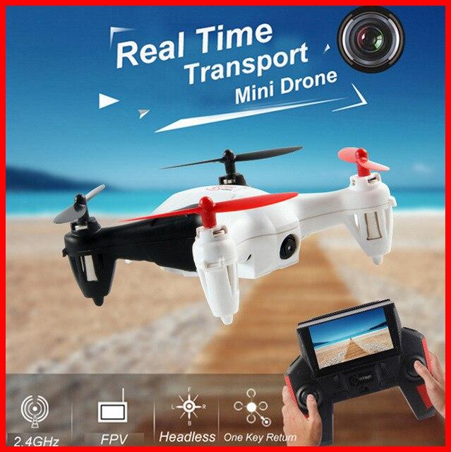 Drone RC Hexacopter WLtoys Q242G 2.4G 4CH quadrirotor hélicoptère télécommandé 3D avec caméra 2.0MP HD X4 H107D