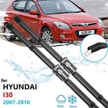 Автомобильная щетка стеклоочистителя для Hyundai I30 2007 2008 2009 2010 FD 30, стеклоочистители переднего ветрового стекла, автомобильные аксессуары, нак...