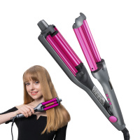 Professional Hair Curler Waves Hair Styler 3 Barrels Adjustable Size DIY Curling Hair Iron Fluffy Waves Salon Styling Tools 2