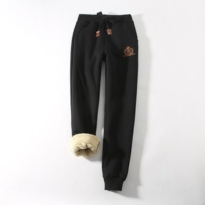 XXXXXL Large size pants winter cotton pants sports Large size wool casual pants plus velvet thick pants 4XL/3XL/2XL(China)