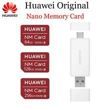 Huawei NM Kartı % 100% Orijinal 90 MB/s 64 GB/128 GB/256 GB için geçerli Mate20 Pro Mate20 X P30 USB 3.1 Nano Hafıza kart okuyucu