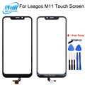 Сенсорный экран 6,18 дюйма с дигитайзером для Leagoo M11, сенсорный стеклянный датчик для Leagoo M11, сенсорный экран, панель, инструменты, мобильный кл...