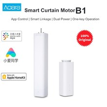 Aqara B1 Smart Curtain Motor Wireless Timing APP Remote Control Smart Motorized Electric Curtain Motor For Smart Home