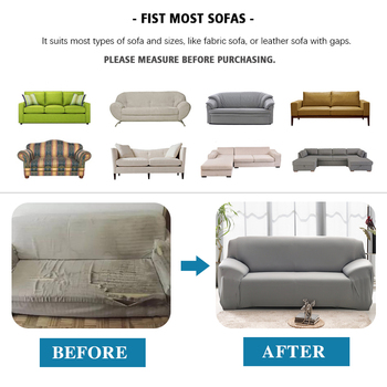 Elastic Plain Solid Coolazy Sofa Cover 10 Chair And Sofa Covers