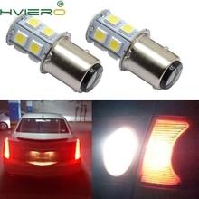 цена на 1156 BA15S 1157 BAY15D 13Led 5050 Auto Led Turn Signal Light Brake Tail Lamp Auto Led Rear Reverse Bulbs Backup Lamp DC 12V
