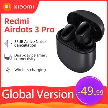 Xiaomi Redmi AirDots 3 Pro bezprzewodowe słuchawki Bluetooth Smart Wear słuchawki douszne apt-x adaptacyjne słuchawki z redukcją szumów z mikrofonem tanie i dobre opinie Słuchawki Piston w wersji młodzieżowej Dynamiczny CN (pochodzenie) Prawdziwie bezprzewodowe 12dB 12mW Do gier wideo Zwykłe słuchawki