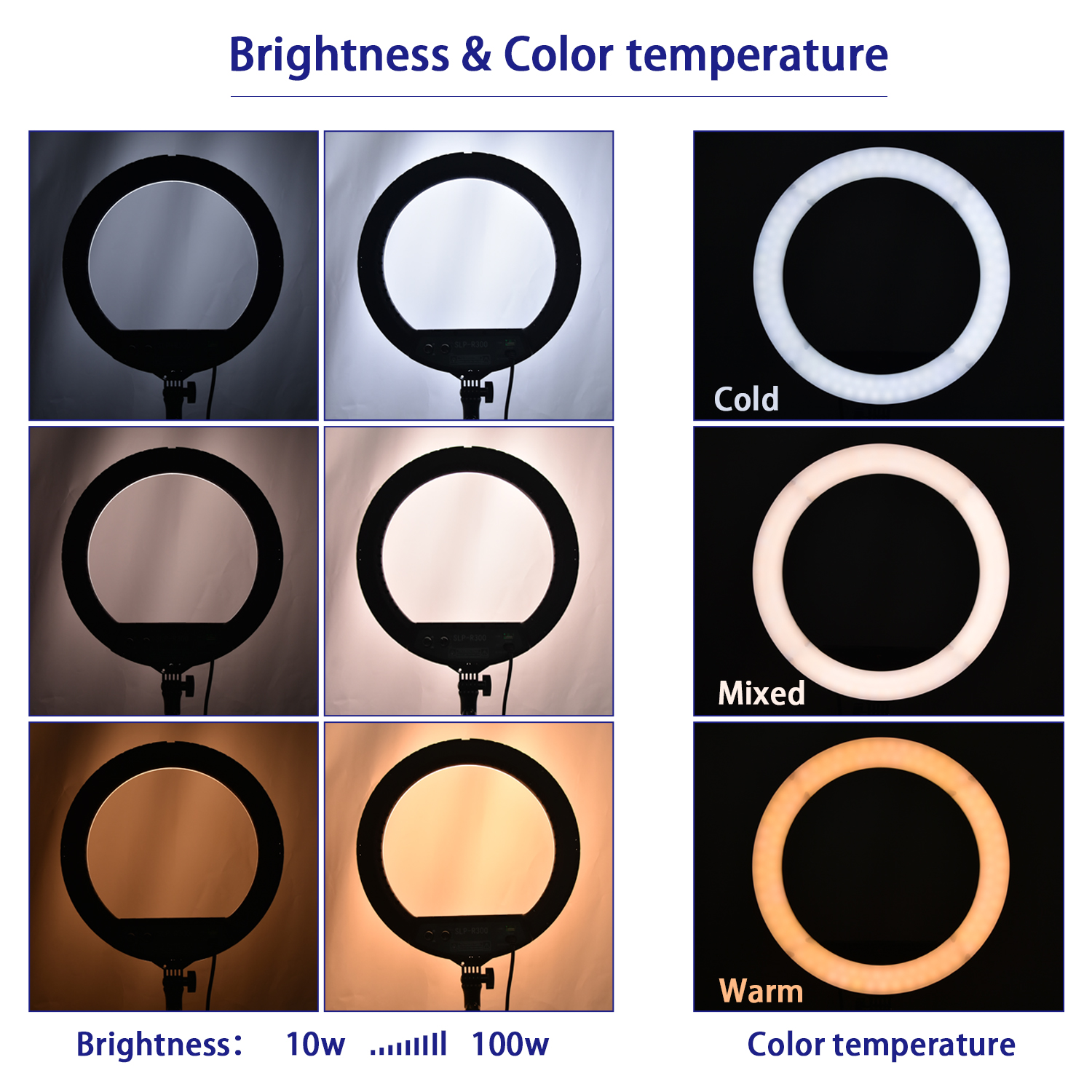 Hcfde0fe9b0444da29cbb31364ae4af11S fosoto LED Ring Light Selfie Photo Photography Lighting Ringlight lamp With Tripod Stand For Photo Studio Makeup Video Live Show