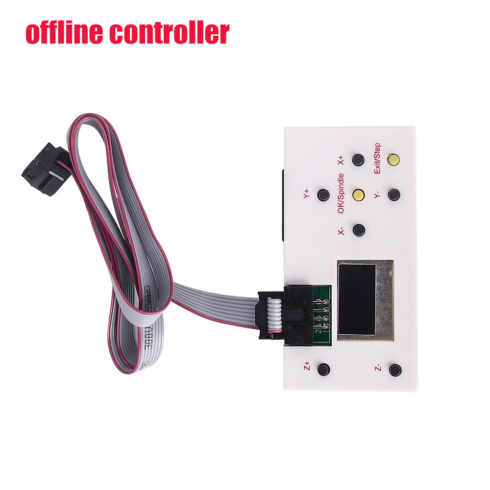 GRBL 1.1 USB Port CNC Engraving Machine Control Board 3 Axis Control with Offline Controller For CNC Laser Engraver