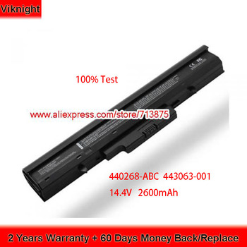 New 14.4V 2600mAh HSTNN-IB44 440268-ABC 443063-001 Battery for HP 510 530 440264-ABC 440265-ABC 440704-001 441674-001 HSTNN-C29C фото