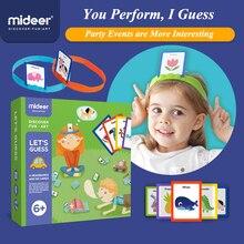 MiDeer bulmaca masa oyunları 3 6Years çizin Me To tahmin oyuncaklar ebeveyn çocuk interaktif erken çocukluk oyunları oyuncak yap boz