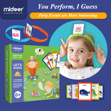 Mideer Puzzel Tafel Games 3 6Years U Draw Me Te Raden Speelgoed Ouder kind Interactief Vroegschoolse Games Speelgoed Puzzel puzzel