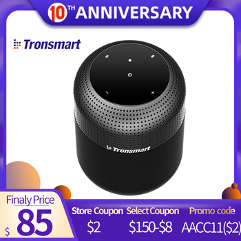 Tronsmart Element T6 Max 60W Wireless waterproof Bluetooth Speaker with 360 Stereo Sound Deep Bass IPX5 NFC Home Theater Column