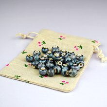 8mm ceramic loose bead DIY hand made accessories, ceramic beads, glazed round bead material accessories, 50pcs wholesale