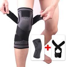1 pçs elástico bandagem compressão joelho suporte esportes cinta joelho protetor bandas tornozelo perna cotovelo pulso bezerro cinta almofadas de segurança