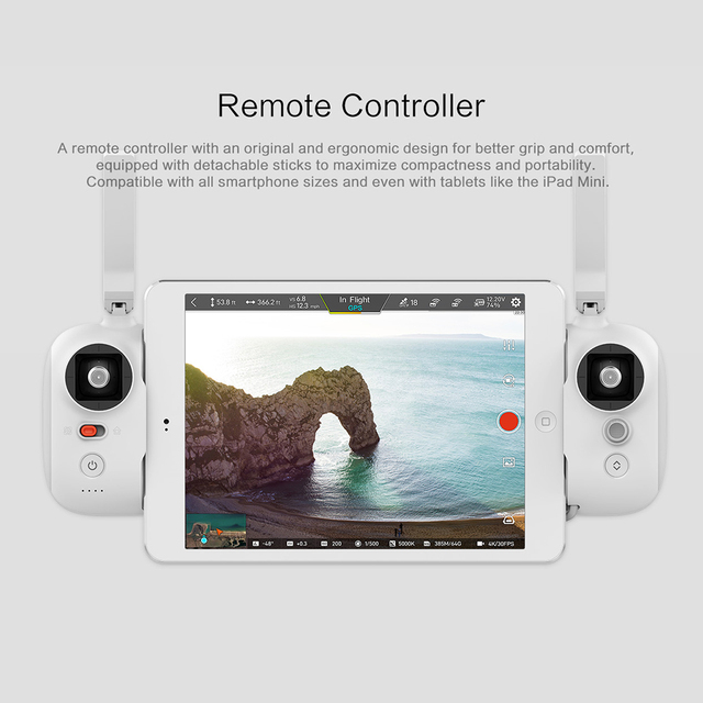 FIMI X8SE 2020 8KM FPV 3-Axis Gimbal 4K Camera RC Drone HDR Video GPS 35mins Flight Quadcopter Charging Battery RTF 5