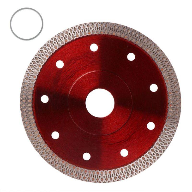 105/115/125/180/230mm Diamond Ceramic Circular Red Disc Saw Blade Porcelain Cut