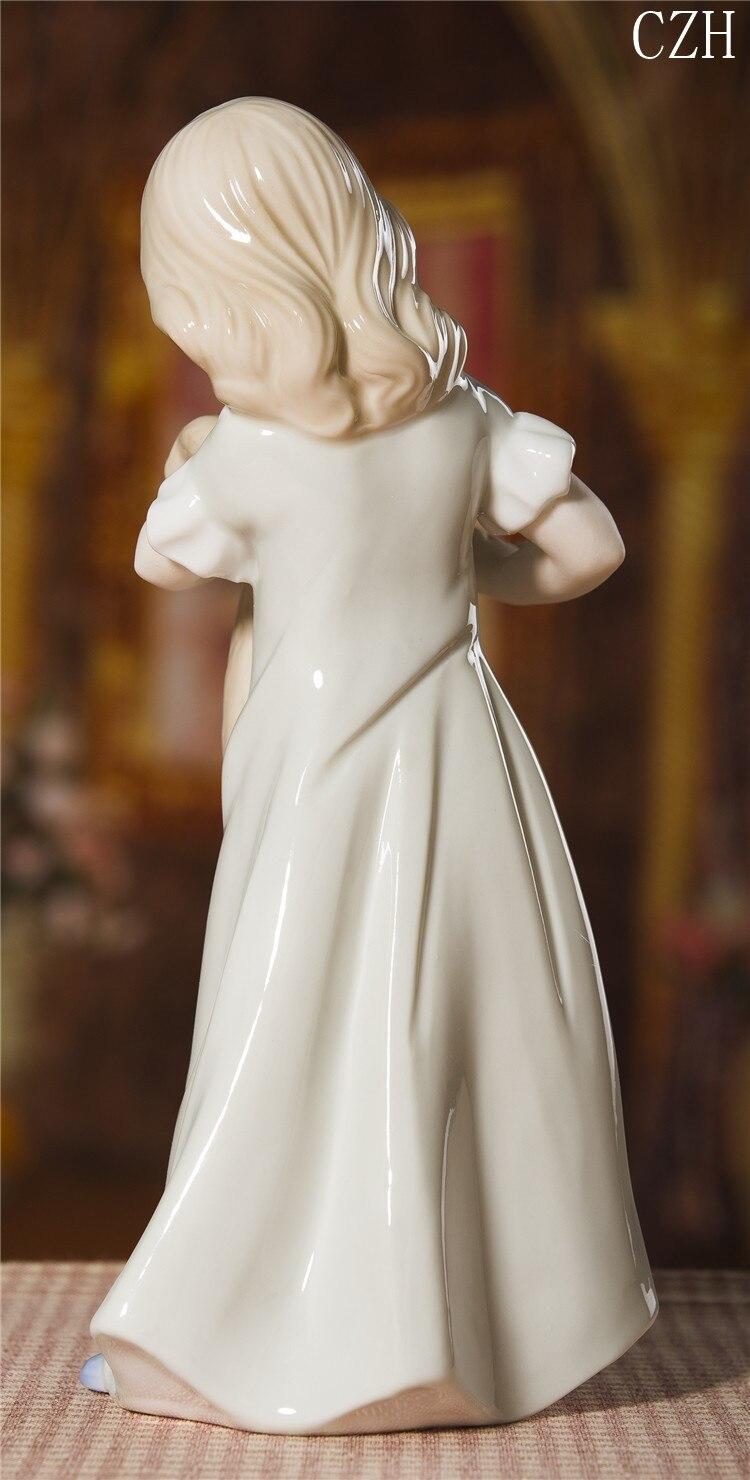 boneca estatueta artesanato ornamento acessórios para presente