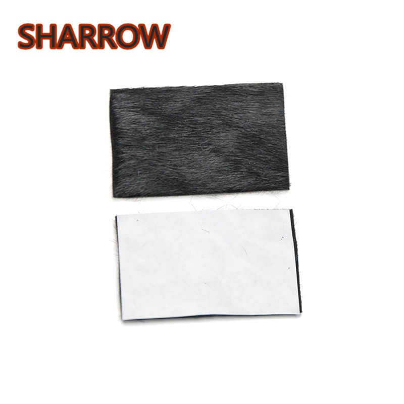 Adhesive Arrow Rest Fur Stick Plate Archery Traditional Recurve Bow Longbow