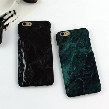 Glossy Granite Marble Effect Phone Case Cover for Apple iPhone 5 5S 6 SE 6S 7 Plus image