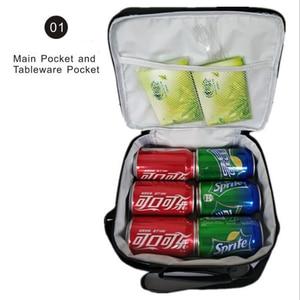 Image 5 - Dragon Ball Super Broly Backpack Pencil Case School Bags  for Teenager Boys Girls  Lunch Backpack 3Pcs/Sets Kids Travel Rucksack