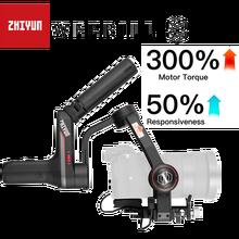 Zhiyun Weebill S, LAB 3 Axis Gimbal Stabilizzatore per Mirrorless e Fotocamere REFLEX Digitali Come Sony A7M3 Nikon D850 Z7, 300% migliore Del Motore
