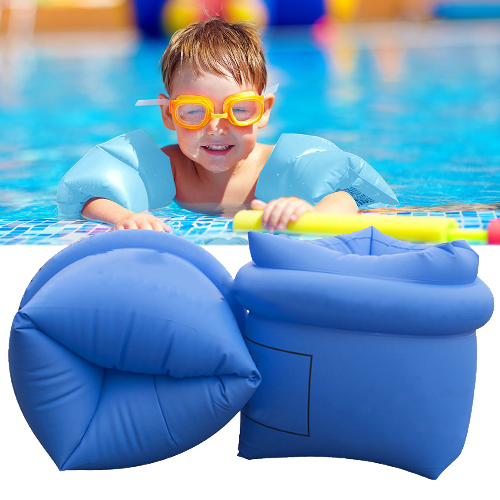 Arm Floaties Inflatable Swim Arm Bands Floater Sleeves Swimming Rings For Kids Toddlers And Adults