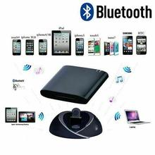цена на Pin Mini Bluetooth Receiver And Music Connector For iPod iPhone Apple Speaker Bluetooth Music Receiver Audio Adapter