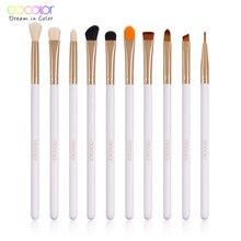 Eye makeup brush set  10 pcs Docolor make up Eyeshadow cosmetic kit New arrival